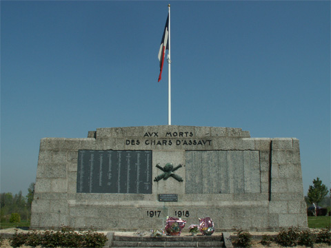 Monument to the French Tank Corps